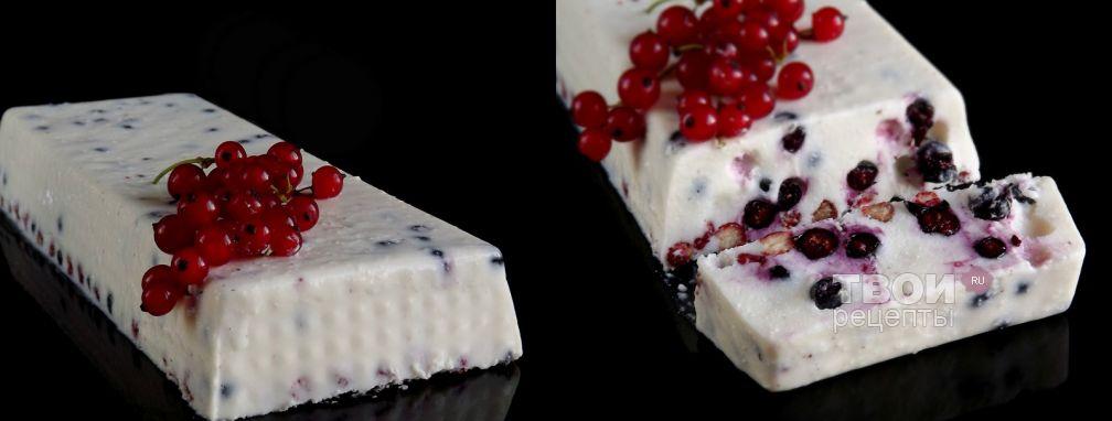 Заливной творожный торт с ягодами - Рецепт