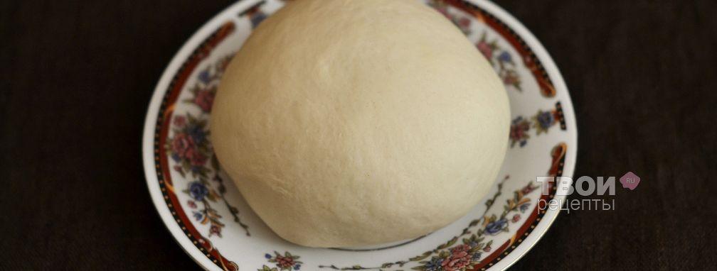 Заварное тесто для чебуреков - Рецепт