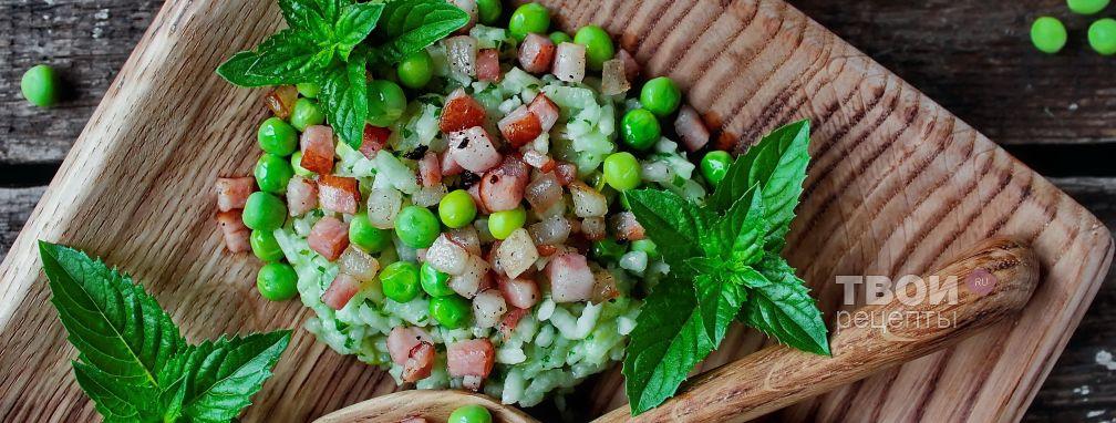 Зелёный рис - Рецепт