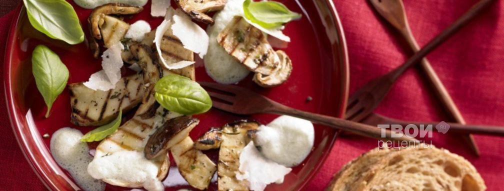 Жареные грибы - Рецепт
