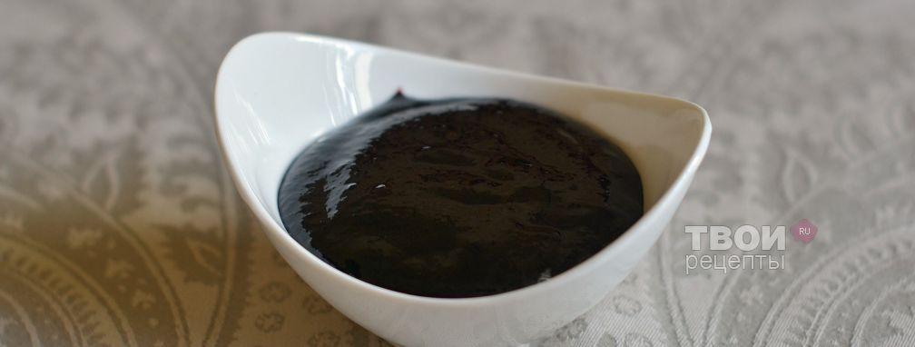 Желе из черной смородины - Рецепт