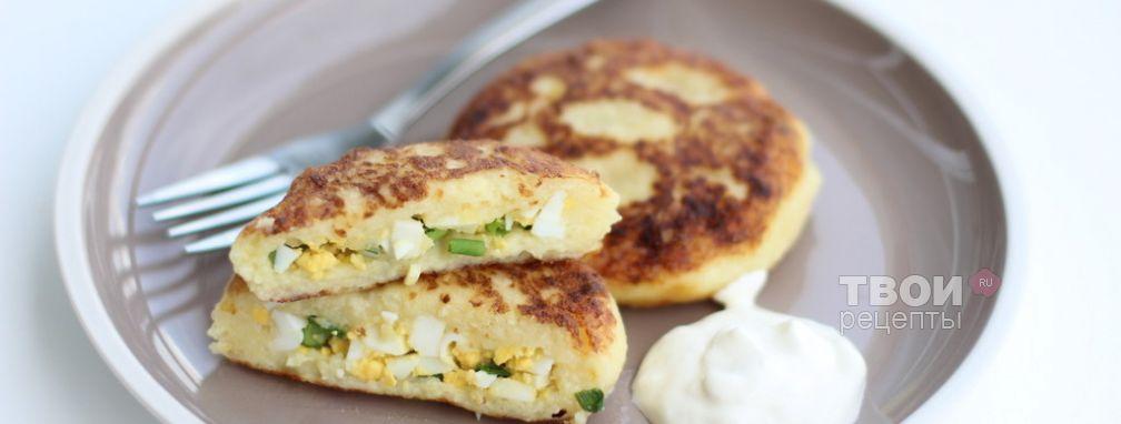Картофельные зразы - Рецепт