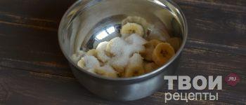 Быстрое банановое мороженое с шоколадом - пошаговый рецепт
