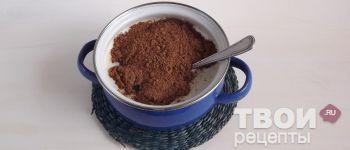 Шоколадная колбаса - пошаговый рецепт приготовления с  фотографиями