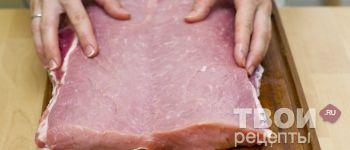 Свиной рулет фаршированный булгуром - пошаговый рецепт с фотографиями