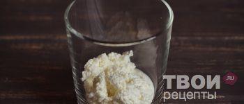 Творожный десерт с печеньем и бананом - пошаговый рецепт  приготовления