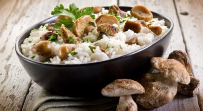 Готовим с белыми грибами