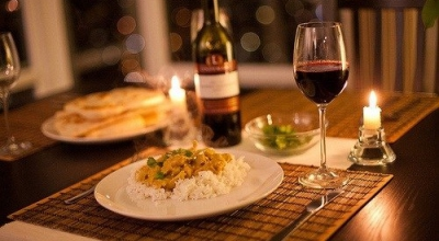 Идеальный ужин для влюбленных