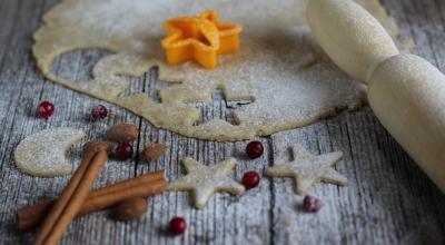 Новогодняя выпечка и десерты