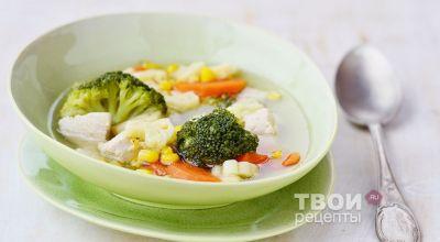 Супы из брокколи