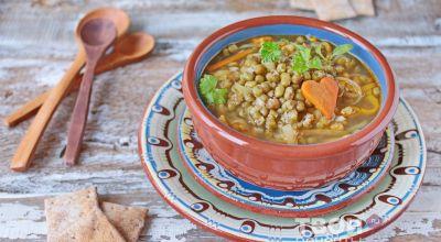 Вегетарианских супы - простые рецепты