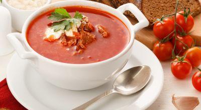Вкусный суп на обед