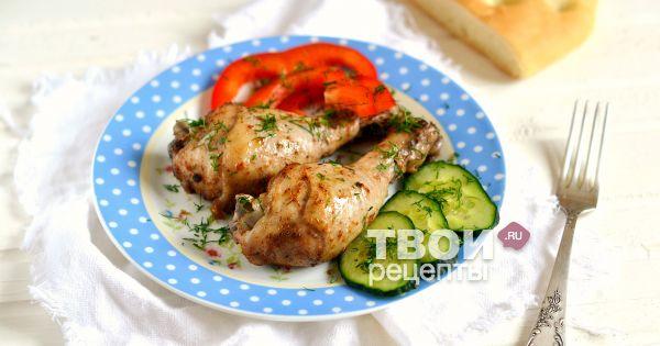 Быстро и вкусно приготовить куриные ножки в духовке