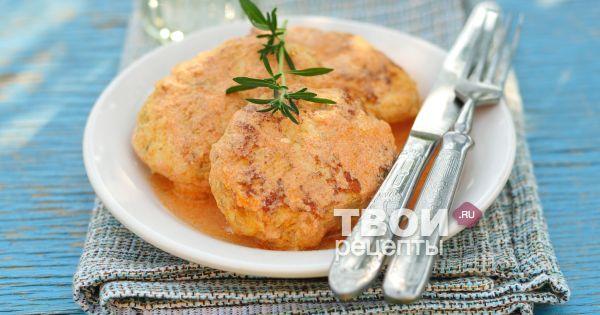 Рецепт салата из жареных шампиньонов с курицей