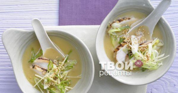 Суп мисо пошаговый рецепт с