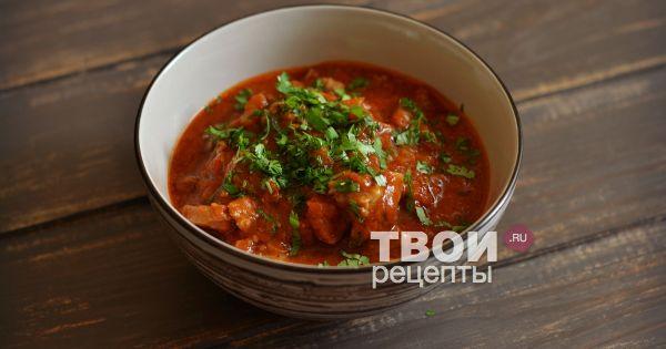 Мясная подлива к гречке рецепт