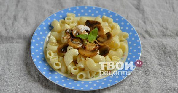 Спагетти с грибами и курицей пошаговый рецепт с