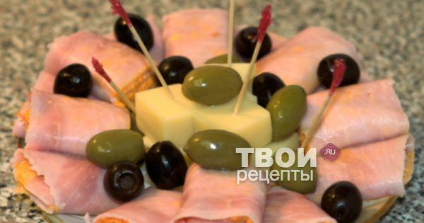 вкусные салаты из ветчины рецепты с фото