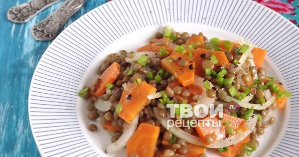 Рецепты из чечевицы постные