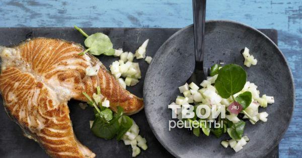 Стейк лосося рецепт с пошаговыми