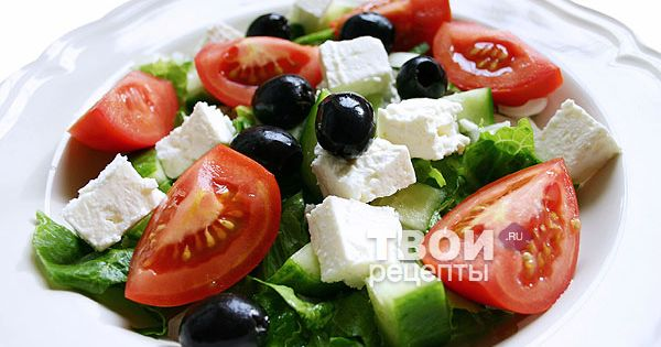 Салаты при диете рецепты