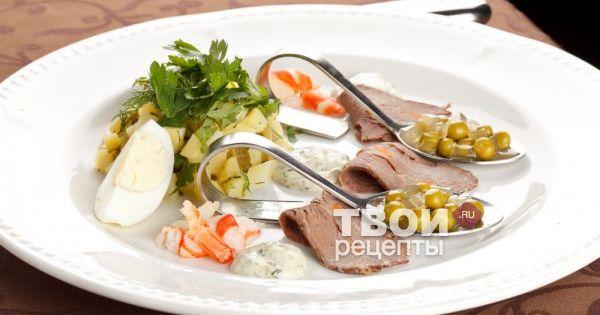 лучшие праздничные рецепты салатов с фото