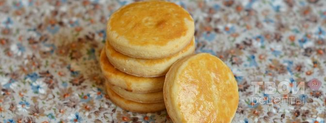 бретонское печенье рецепт -пирог