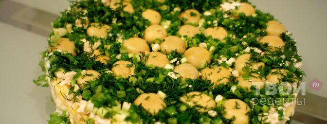 Грибная поляна - Рецепт