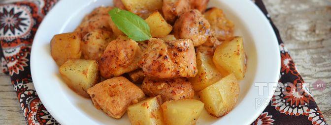 Блюда из куриной грудки с картофелем рецепты
