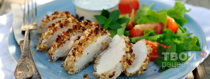 куриные грудки панировке рецепт фото