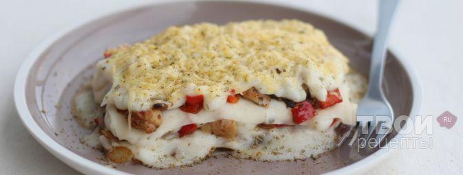 лазанья с вареной курицей рецепт