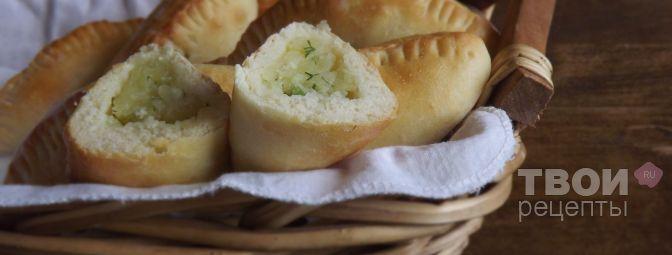 Пирожки с картошкой - Рецепт