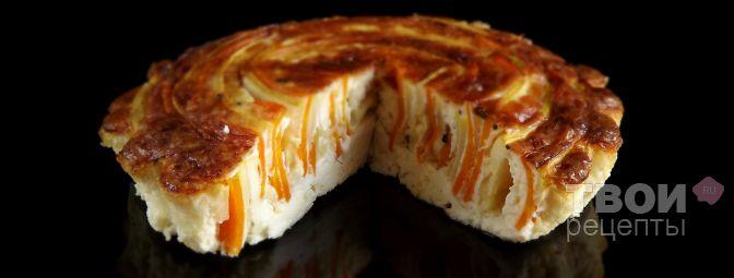Сырно-овощная запеканка - Рецепт