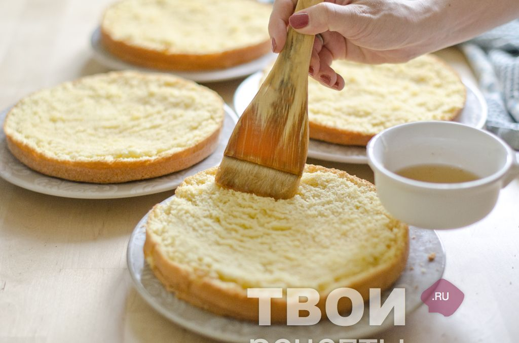 рецепты самых вкусных бисквитных тортов