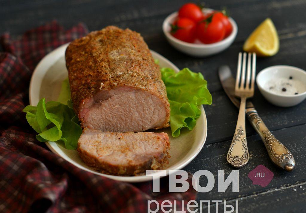 Свинина в фольге в мультиварке редмонд рецепты пошагово в