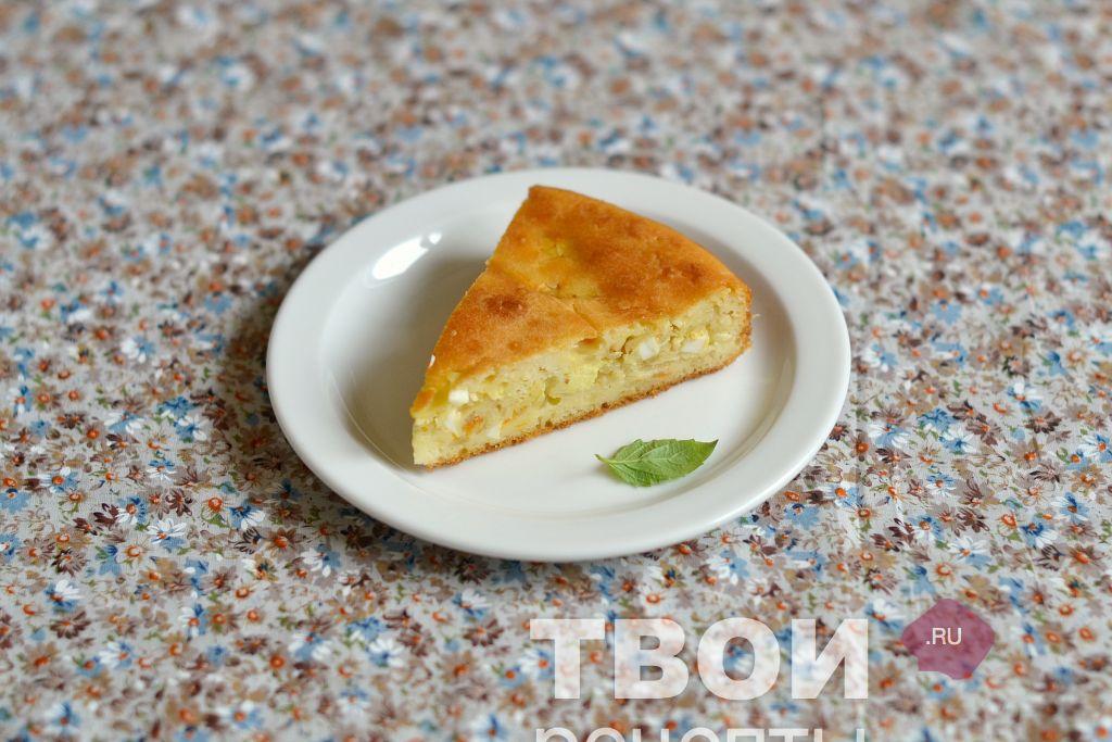Пирог с капустой вкусный рецепт с фото пошагово