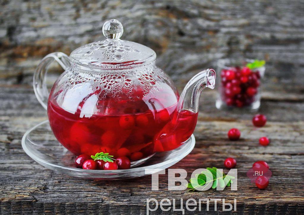 Рецепт чая с ягодами