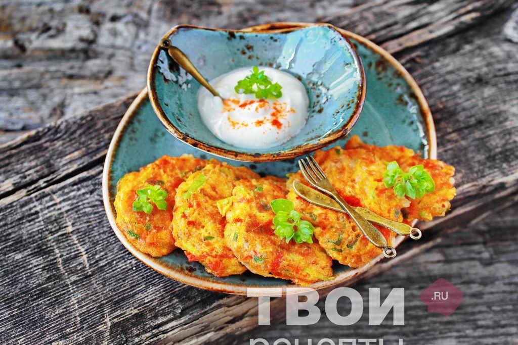 оладьи из кабачков рецепт диетические с фото