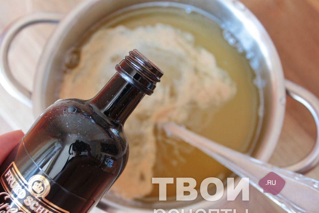 sorbet glass recept