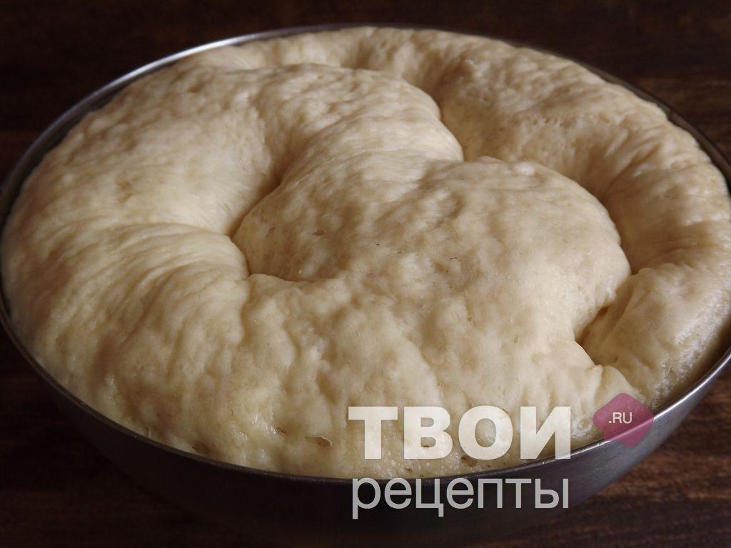 Дрожжевое тесто пошаговый рецепт с фото для жареных пирожков