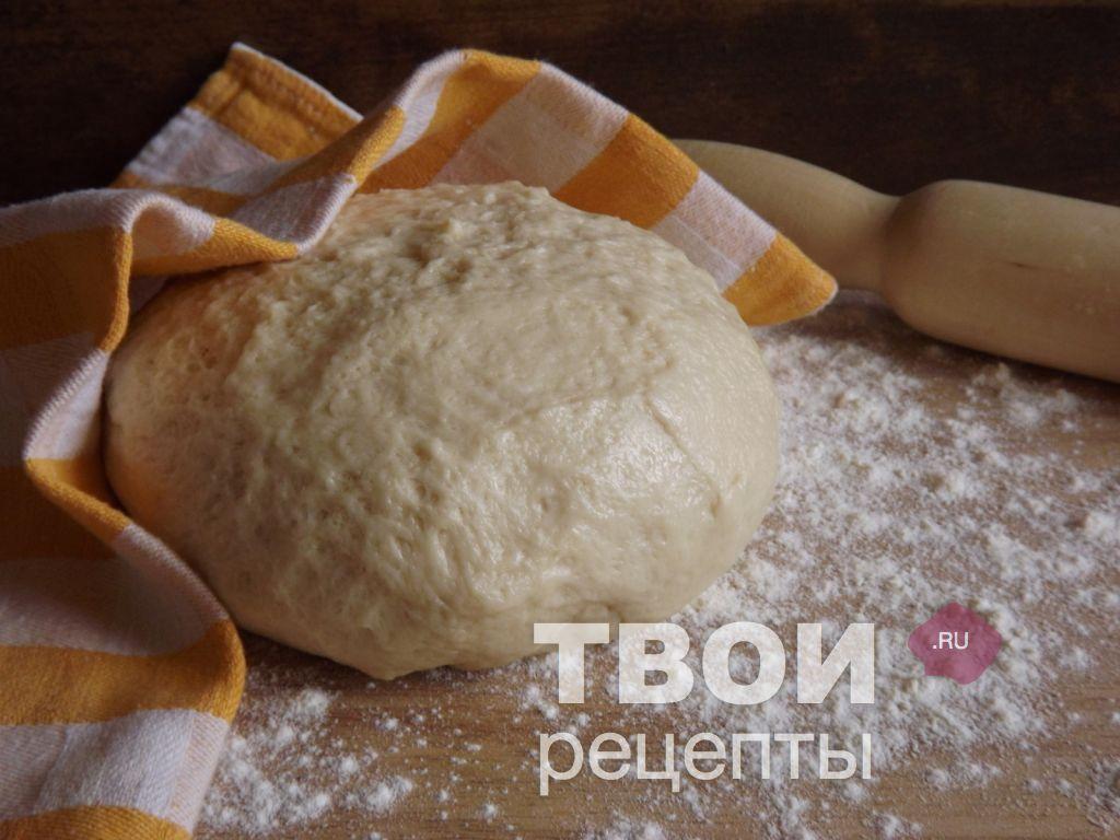 Тесто для пиццы без дрожжей из цельнозерновой