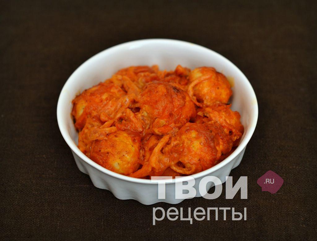 рецепт фрикадельки в томатном соусе в мультиварке