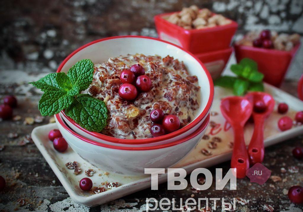 геркулесовая каша вкусный рецепт