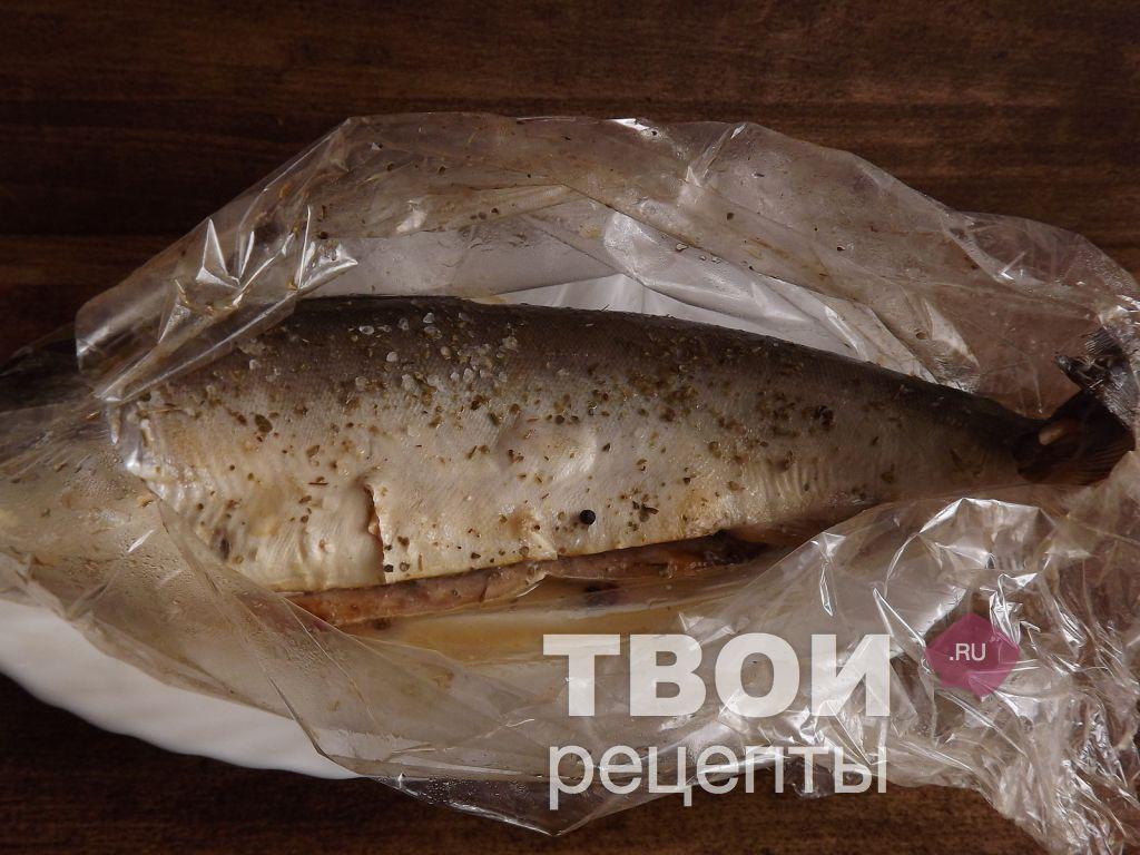 Горбуша запеченная в рукаве фото рецепт
