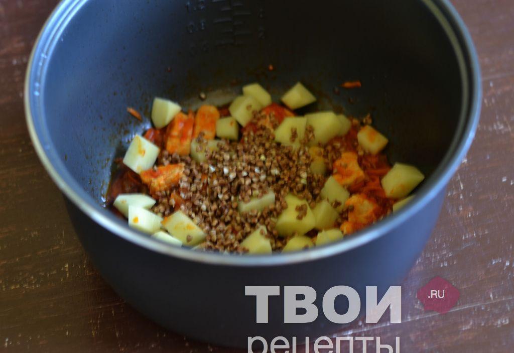 гречневый суп в мультиварке фото рецепт