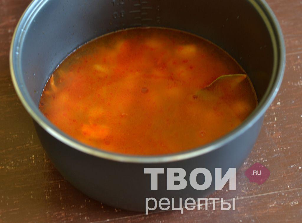 Приготовление на режиме суп в мультиварке