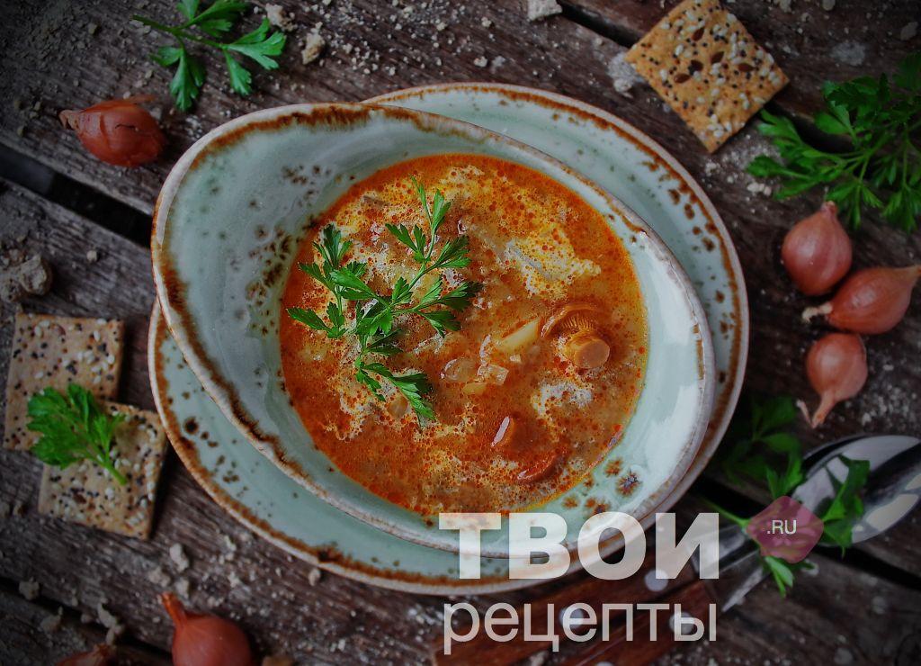 Грибница из сухих грибов рецепт