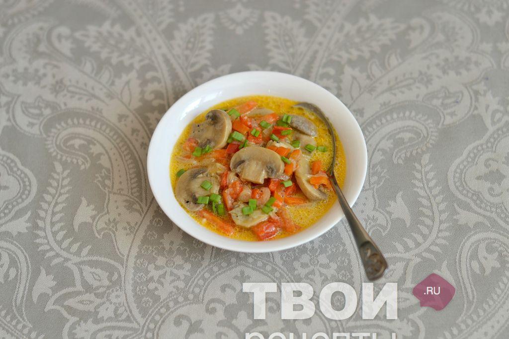 Грибное рагу рецепт пошагово 72