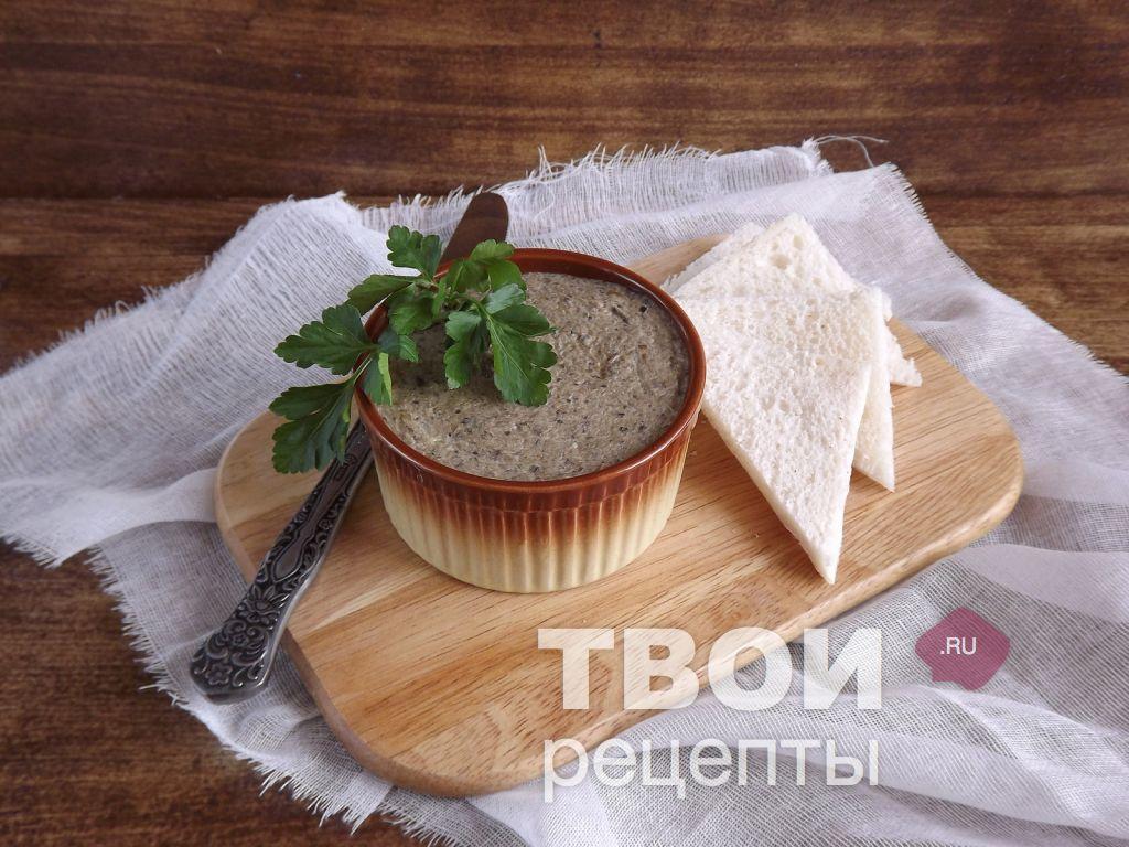 паштет из грибов рецепт с фото