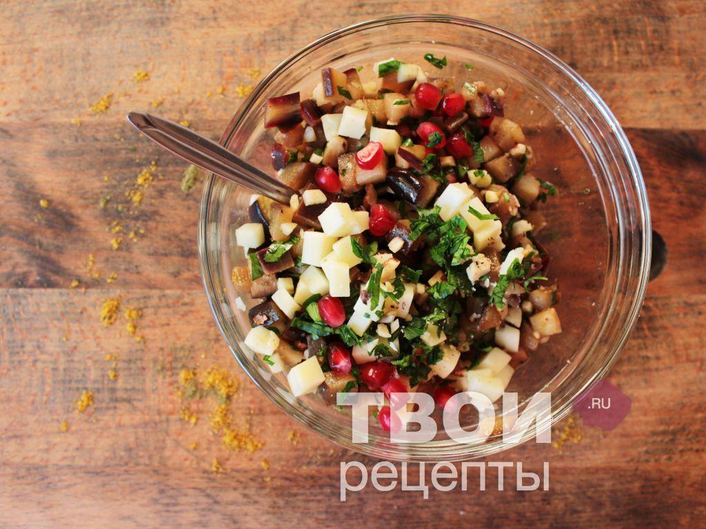Салат грузия рецепт пошагово